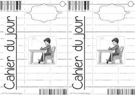 Outils  pages de garde pour cahiers CP ou autre