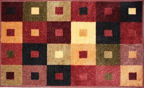 Squares Area Rug J M Home Fashions Squares Area Rug 30in X 50in Area Rugs