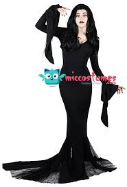 wednesday costume the family morticia costume