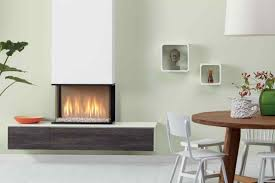 corner gas fireplaces traforart admeto corner suspended fireplace