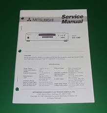 original mitsubishi dd 1000 service manual ebay