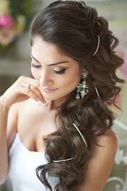 22 romantic wedding hairstyles for every bride long loose curls