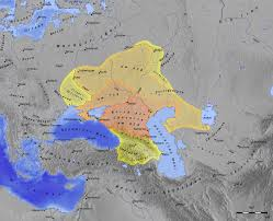 middle east map hungary khazar khanate from 650 to 850 at the crossroads between china