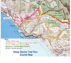 Tcc Map Steep Ravine Trail Run
