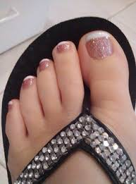 15 adorable toe nail designs and ideas french pedicure