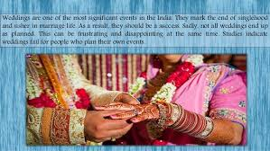 find a wedding planner how to find the best indian wedding planner