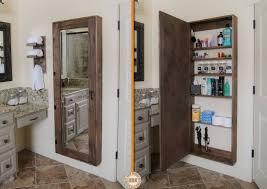 bathroom mirror cabinet ideas medicine cabinet diy bathroom mirror storage cozy