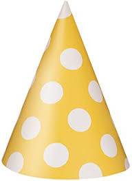 amazon com pink polka dot party hats 8ct childrens party