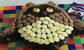 owl cake cadbury dairy milk buttons owl cake cherished by me