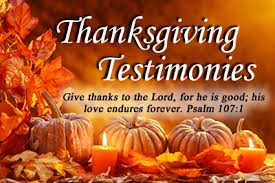 thanksgiving testimonies rejoice marriage ministries inc