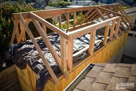 Building A Dormer Framing The Dormers Tiny House Giant Journey