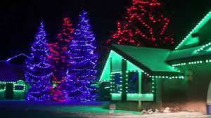 benson nc christmas lights dec 2012 spruce meadows christmas lights youtube