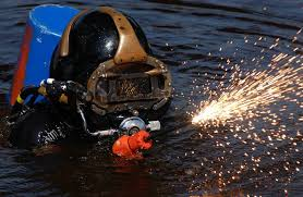 how to become an underwater welder commercial diving academy
