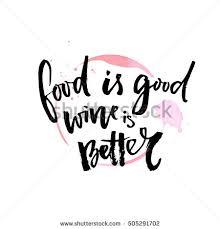 cuisine ang駘ique food wine better quote 库存矢量图505291702