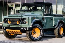 original land rover defender land rover defender 2 2 tdci 90 hard top tuned by chelsea truck