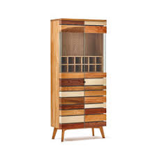 display cabinets material solid wood high quality designer