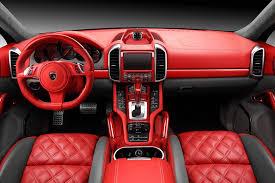porsche cayenne interior interior porsche cayenne topcar gt 958 1 red topcar switzerland