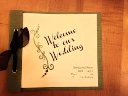 wedding program cover diy booklet crafty wedding
