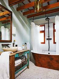 House To Home Bathroom Ideas 15 Charming Bathroom Designs With Wood Beams Rilane