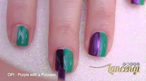 easy nail art for beginners 27 cute mardi gras polish designs