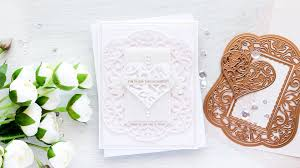 engagement congratulations card u0026 video tutorial youtube