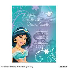 jasmine birthday invitation invitations jasmine and birthdays