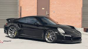 porsche 911 turbo s tuning pfaff porsche 911 turbo s on hre wheels