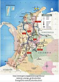 Colombian Map Oil Coal And Economic Development In Colombia Geocurrents