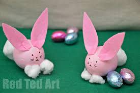 blown easter eggs egg decorating easter bunny craft ted s