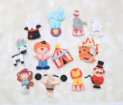 circus characters carnival ornament circus animals poodle