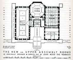 floor plan of the upper rooms bath from walter ison u0027s book u201cthe
