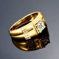 rose zircon rings images Fashion rings men classic geometry gold plated rose gold plated jpeg