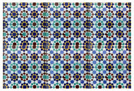 Moroccan Tile Mosaic Hand Painted Tile From Badia Design Inc