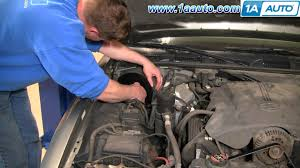 how to install replace heater ac fan blower motor crown victoria