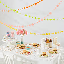 pink and gold party supplies meri meri gold party decor the land of nod