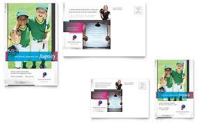 retail u0026 sales postcard templates word u0026 publisher