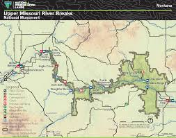 Montana River Map by Paddle To The Prairie Missouri River Travel Tips American