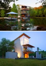 Knoxville Fall Home Design Remodeling Show 16 Examples Of Modern Houses With A Sloped Roof Modern Pond