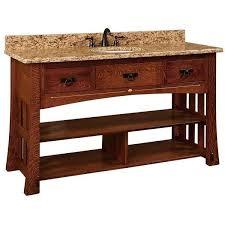 amish made bathroom cabinets amish 60 mesa mission single bathroom vanity cabinet with inlays