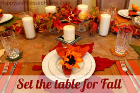 Fall Table Settings Fall Table Setting Seat 8 For Less Than 85