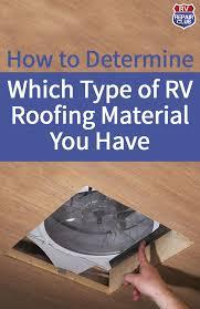 roof beautiful camper roof repair how to repair or replace rv