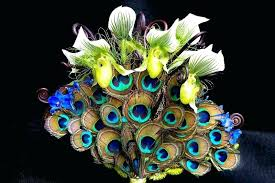 peacock centerpieces wonderful peacock wedding decoration dway me