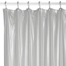 Magnetic Shower Curtain Liner Buy Weighted Shower Curtain Liner From Bed Bath Beyond