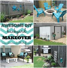 awesome diy backyard makeover lovely shed makeover curb