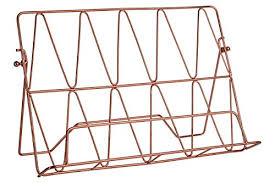 support livre de cuisine premier housewares vertex cookbook stand copper plated amazon
