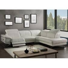 canape d angle relax electrique marque generique canapé d angle relax électrique en cuir puno