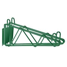 Wall Mounted Wire Shelving Wall Mounted Wire Shelving Brackets And Kits Culinary Depot