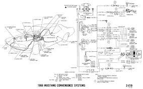 1970 mustang wiring diagram u0026 pictorial and schematic vacuum