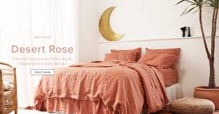 Midnight Colors For Your Bedroom Purple Charcoal Linen Bedding The Best Sheets And Bedding From I Love Linen