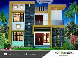 home plan designer contemporary style 1674 sqft economic house plan design